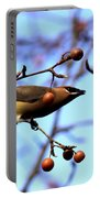 4405 - Cedar Waxwing Portable Battery Charger