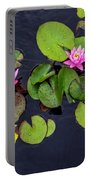 4425- Lily Pads Portable Battery Charger