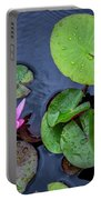 4432- Lily Pads Portable Battery Charger