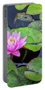 4434- Lily Pads Portable Battery Charger