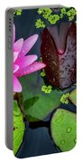 4475- Lily Pads Portable Battery Charger