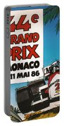 44th Monaco Grand Prix 1986 Portable Battery Charger