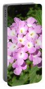 Australia - Pink Flowers Portable Battery Charger