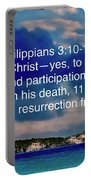 Bible Verse  Portable Battery Charger