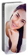 Gal Gadot Print Portable Battery Charger