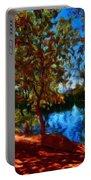 Landscape Paintings Canvas Prints Portable Battery Charger