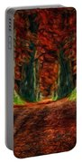 Landscape Wall Art Portable Battery Charger