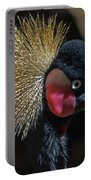 49- West African Crowned Crane Portable Battery Charger