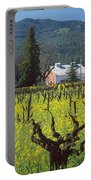4b6394 Mustard In The Vineyards Portable Battery Charger
