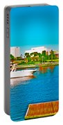 4x1 Downtown Tampa Panorama Portable Battery Charger