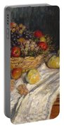 Apples And Grapes Portable Battery Charger