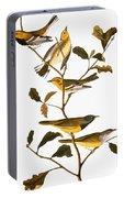 Audubon: Warbler Portable Battery Charger