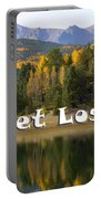 Autumn Aspen At Crystal Creek Reservoir Pikes Peak Portable Battery Charger