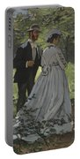Bazille And Camille Portable Battery Charger