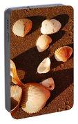 Beach Shells Portable Battery Charger