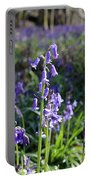 Bluebells Near Effingham In The Surrey Hills England Uk Portable Battery Charger