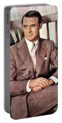 Cary Grant, Vintage Actor Portable Battery Charger
