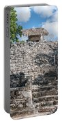 Conjunto Pinturas At The Coba Ruins  Portable Battery Charger