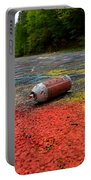 Discarded Spray Paint Can Portable Battery Charger