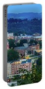 Downtown Morgantown And West Virginia University Portable Battery Charger