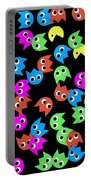 Game Monsters Seamless Generated Pattern Portable Battery Charger