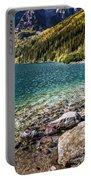 Green Water Mountain Lake Morskie Oko, Tatra Mountains, Poland Portable Battery Charger