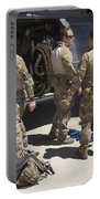 Hh-60g Pave Hawk With Pararescuemen Portable Battery Charger