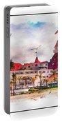 Hotel Del Coronado Portable Battery Charger
