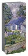 Houses At Auvers Portable Battery Charger