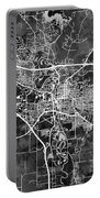 Iowa City Map Portable Battery Charger