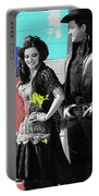June Carter Cash Johnny Cash In Costume Old Tucson Az 1971-2008 Portable Battery Charger