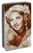 Lana Turner Vintage Hollywood Actress Portable Battery Charger