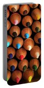 Multicolored Pencils  Portable Battery Charger