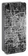 Omaha Nebraska City Map Portable Battery Charger