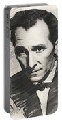 Peter Cushing, Vintage Actor Portable Battery Charger