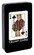 Reelect Trump For President Keep America Great Dark Portable Battery Charger