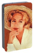 Sandra Dee, Vintage Actress Portable Battery Charger