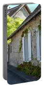 Street Scenes From Giverny France Portable Battery Charger