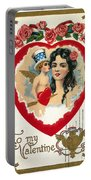 Valentines Day Card Portable Battery Charger