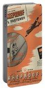 World War II Advertisement Portable Battery Charger