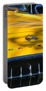 Yellow Corvette Portable Battery Charger