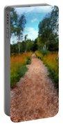 Modern Landscape Portable Battery Charger
