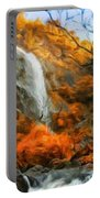 Nature Landscape Oil Painting Portable Battery Charger