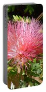 Australia - Red Caliandra Flower Portable Battery Charger