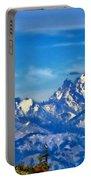 Color Landscape Portable Battery Charger