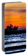 Sunset Bay Beach Portable Battery Charger