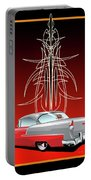 55 Chevy Pinstriping Portable Battery Charger