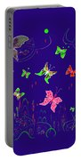 558   Butterflies  V Portable Battery Charger