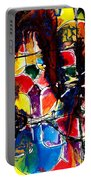 Jugglery Of Colors Portable Battery Charger