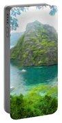 Nature Art Landscape Canvas Art Paintings Oil Portable Battery Charger